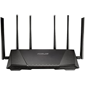 ASUS Tri-Band AC3200 Wireless Gigabit Router Model RT-AC3200