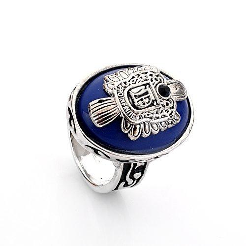 lureme® Vampire Diaries Daylight Walking Signet Damon's Ring for Fans-O (04001478-1)