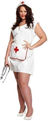 Damen Sexy Krankenschwester Rettungsdienste Kostüm Kleid Outfit ÜberGröße - Sexy Übergröße Krankenschwester Kostüm