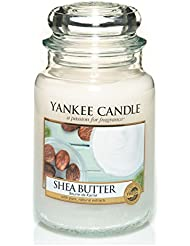YANKEE CANDLE - 1332212E - BOUGIE PARFUMEE CLASSIC GRANDE JARRE BEURRE DE KARITE 603 G