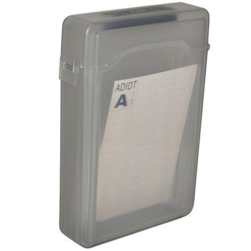 """Preisvergleich Produktbild 3.5"""" Festplatte Disk HDD SATA IDE Plastik Schutz Lagerung Container Kasten"""