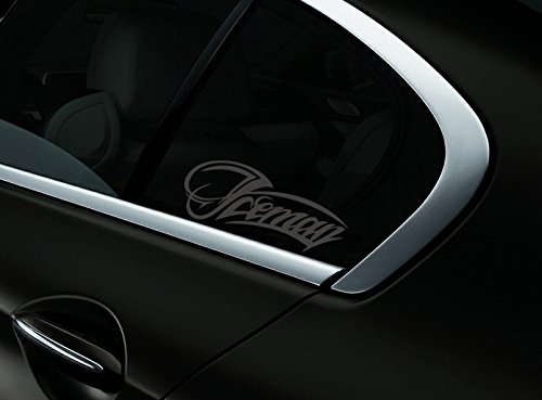 Iceman Kimi Raikkonen F1 Auto- Fenster-Aufkleber- Abziehbild- Styling, Holzkohle - Getönte Fenster-abziehbild