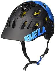 Bell Super 2 MIPS - Casco MTB - azul/negro Contorno de la cabeza 58-62 cm 2016