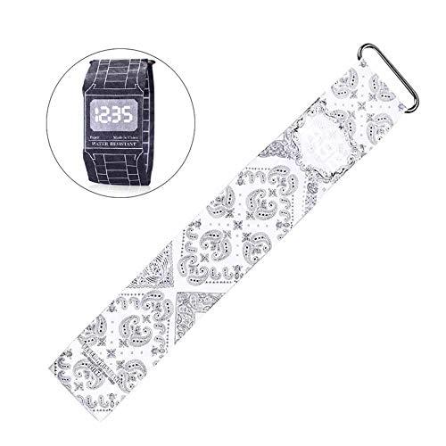 AOLVO Digital Paper Uhr, Wasserdicht Handgelenk Casual Armbanduhr Magnetverschluss Schnalle, Super Light Creative Cool Herren Frauen Schule Mädchen Jungen Kids Totem Art