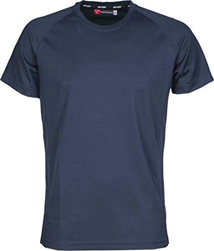 S.B.J - Sportland Kinder Funktionsshirt/Laufshirt/Sportshirt Performance T-Shirt Navyblau, Gr. XXL