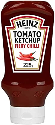 Heinz™ Fiery Chilli Tomato Ketchup, Top Down Squeezy Bottle, 225g