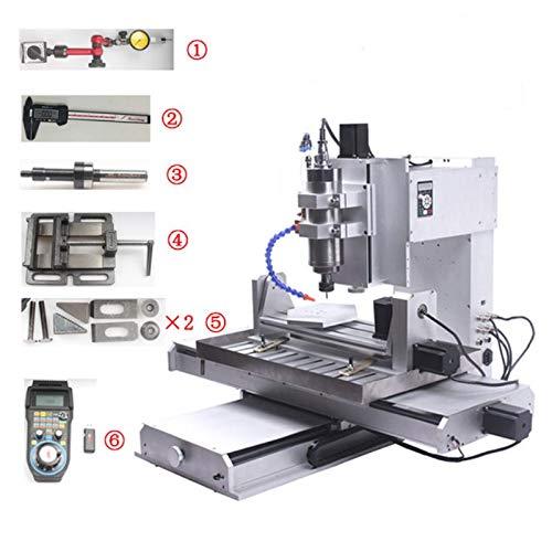 Máquina grabado enrutador CNC 5 ejes CNC 6040 Tornillo