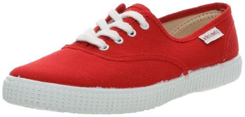 Victoria Inglesa Lona, Baskets mode mixte adulte Rouge (Rojo)