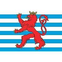 Luxemburg mit Wappen Flagge 90 * 150 cm