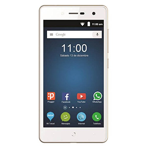 Telefono Movil Smartphone Zte Blade L7 Dorado / 5' / Quad Core / 8Gb ROM / 1Gb Ram / 8Mpx - 2Mpx /