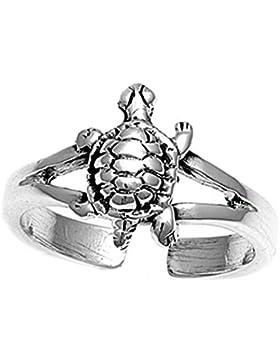 Zehenring Sterling Silber Schildkröte