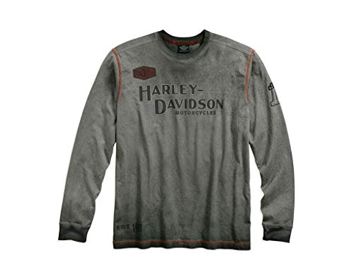 Harley-Davidson Langarm-Shirt Iron Block , L