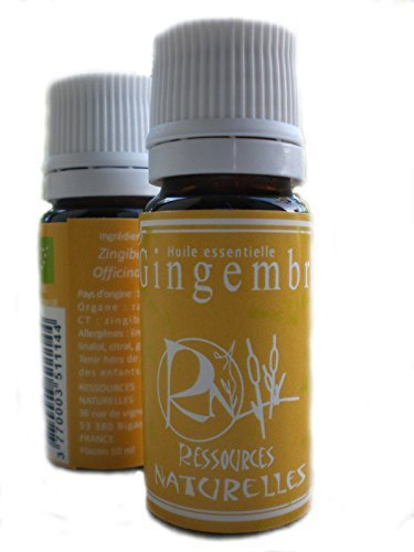 Ressources Naturelles - Ingwer Ätherisches Öl (Bio) 10 Ml
