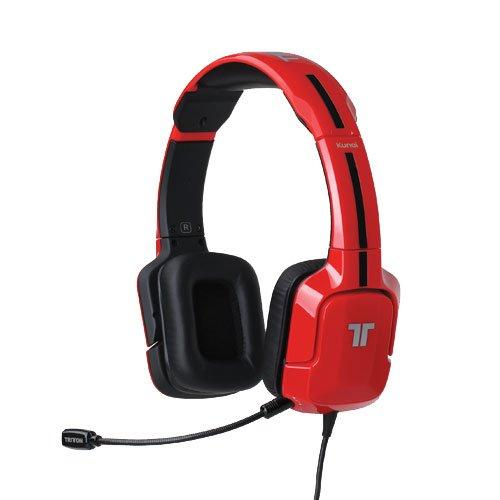 Tritton - Auriculares Kunai, Color Rojo (PS4, PS3, PS Vita)