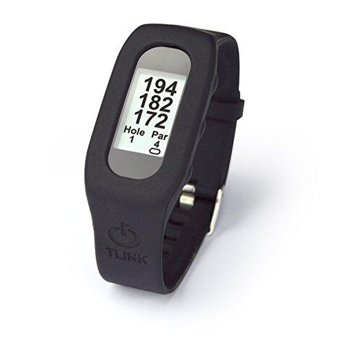 Second Chance GPS Uhr Golf, Schwarz, BLKTLINK