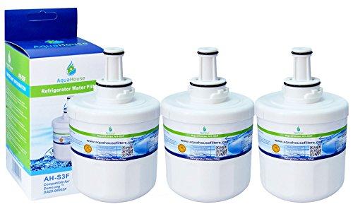 3x AH-S3F kompatibel Wasserfilter für Samsung Kühlschrank DA29-00003F, HAFIN1/EXP, DA97-06317A-B, Aqua-Pure Plus, DA29-00003A, DA29-00003B