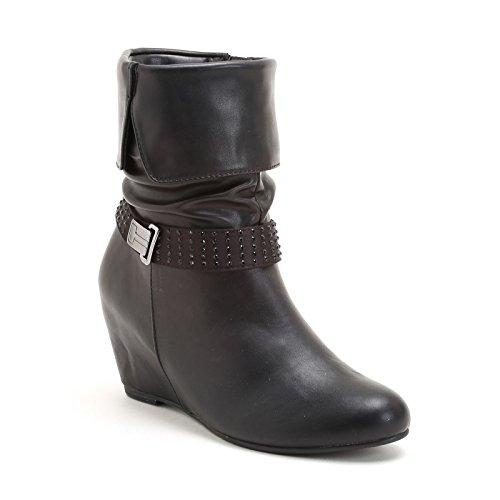 Obsel: Par Shoes & Shoes - Bottines Noires Pour Femme