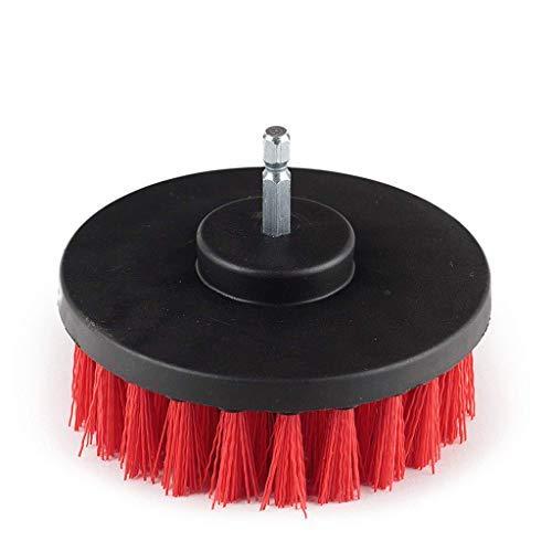 CHshe 2Pcs Bohrmaschine Bürsten Set 4''Bohrbürste Polierbürste Mit Reinigungsschwamm Kit Für Elektrische Bohrmaschinen Scrubber Bürste Küche Badezimmer