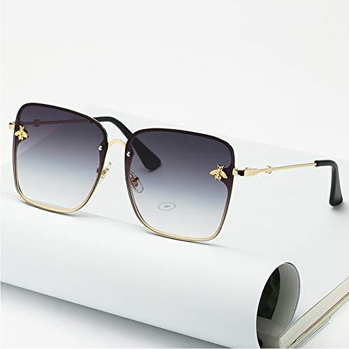TYZDY Sonnenbrillen für Männer und Frauen, High-End-Retro-Sonnenbrillen-grey