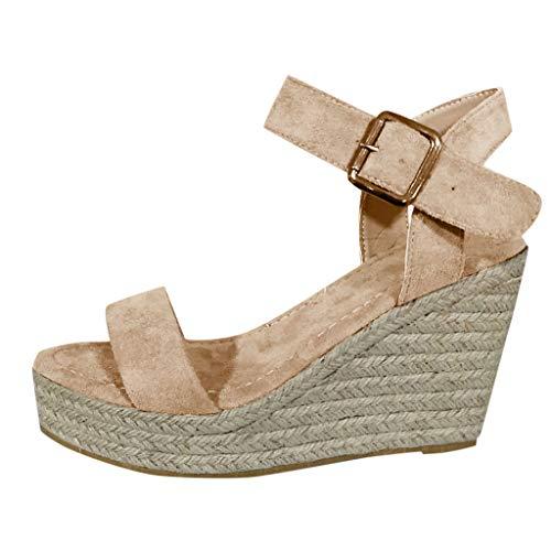 Zapatos Mujer Verano 2019 Sandalias Cuña Plataforma