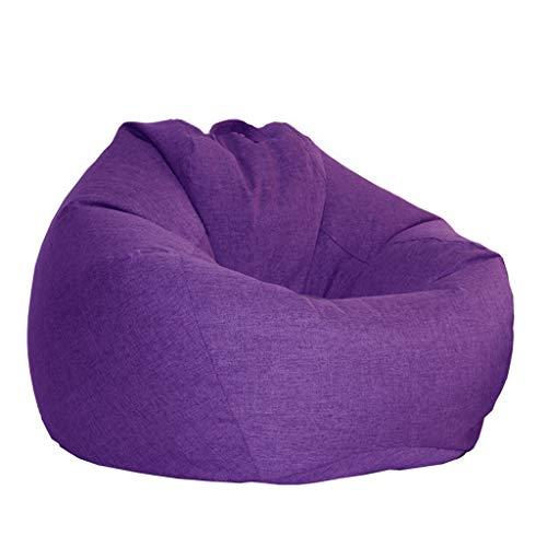 Back 2 Sitz Sofa (LIBBS Sitzsack Sitz, faul Sofa Kids High Back Familie oder Garten geeignet für Spiele lI (Color : Purple, Size : 105×120cm))