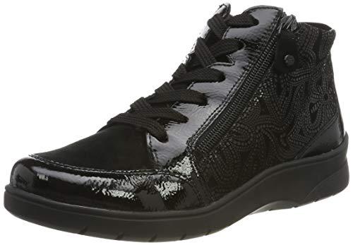 ARA Damen Meran 1241048 Hohe Sneaker, (Schwarz 71), 36.5 EU