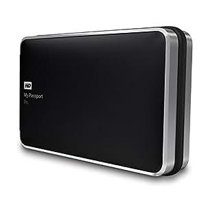 Western Digital 4TB My Passport Pro tragbare externe Festplatte - Thunderbolt - WDBRNB0040DBK-EESN