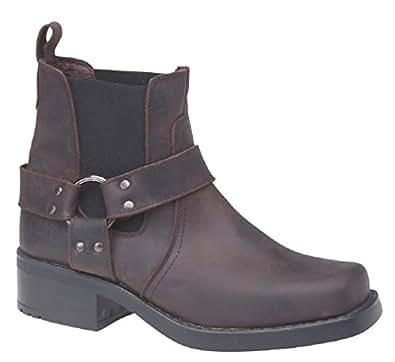 Gringos M486B Mens Chelsea Boots In Dark Brown . (UK 7)