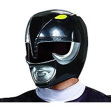 Disguise Adult Black Ranger Helmet Standard