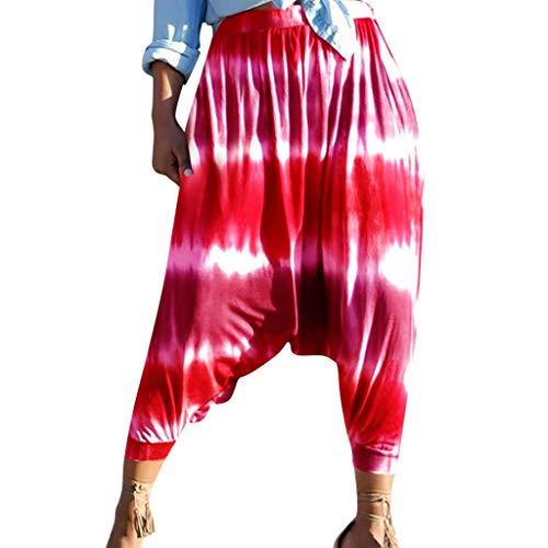 Wolle Gestreifte Slim Pant (ABsoar Beiläufige Legging Frauen Fitness Gestreifte Workout Sporthosen Mittlere Taillen Gedruckte Harem Hosen Modisch Elastische Traininghose)