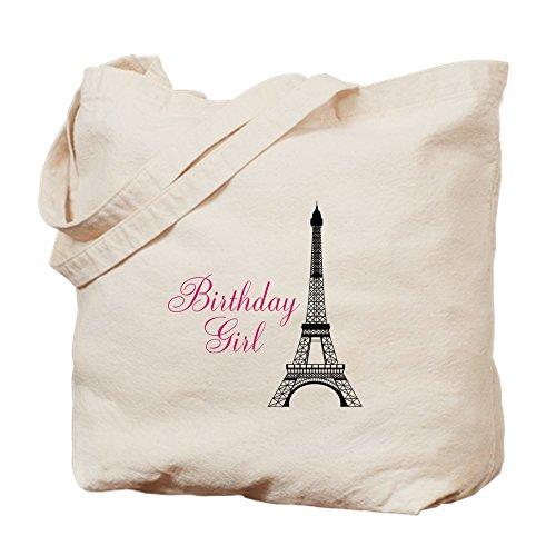 CafePress Tragetasche für Mädchen mit Eiffelturm, canvas, khaki, M
