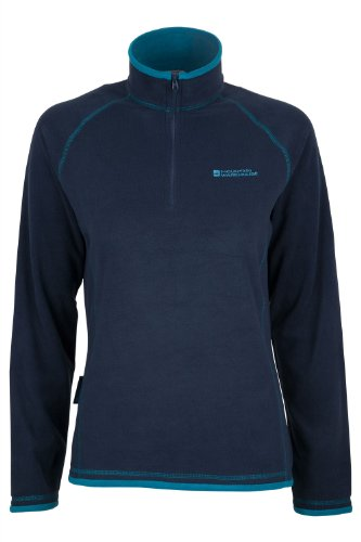 mountain-warehouse-montana-womens-walking-hiking-half-zip-microfleece-micro-fleece-navy-10
