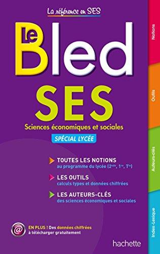 Le Bled SES : Sciences économiques et sociales par Marion Navarro