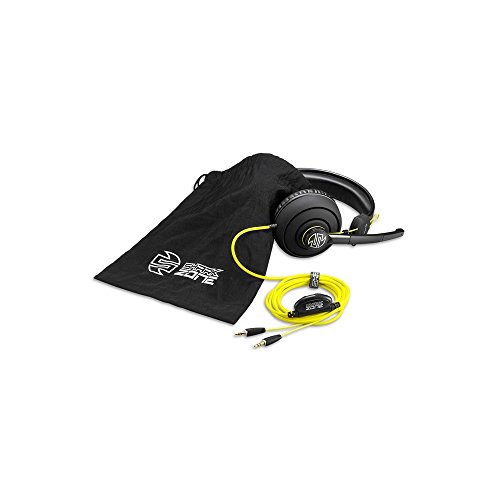 Sharkoon Shark Zone H10 Gaming Stereo PC-Headset mit 40mm Lautsprecher, schwarz (Creative Fatal1ty-headset)