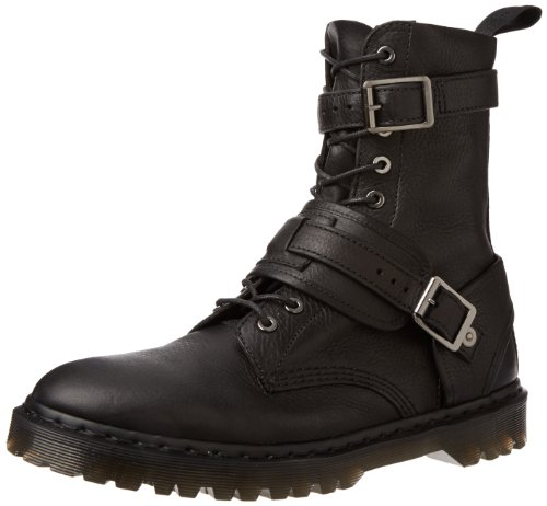 Dr. Martens Dalton Inuck Noir, Chaussures Bateau Adultes Unisexes Noires (schwarz (noir))