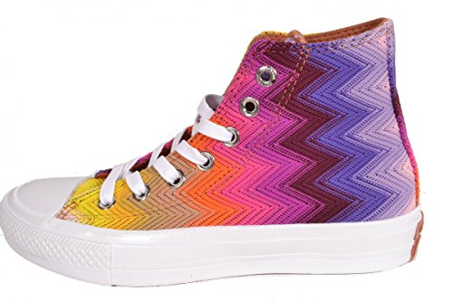 Converse Chuck Taylor All Star Ii High Missoni Donna Sneaker Bunt