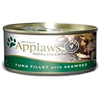 Applaws Tuna Fillet - Decoración para comida de gato con algas