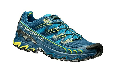 LA SPORTIVA - ULTRA RAPTOR - SCARPA UOMO OUTDOOR - MOUNTAIN TRAIL RUNNING FOOTWEAR - BLUE / SULPHUR (43,5)