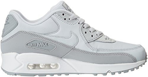 Nike Herren Air Max 90 Essential Low-Top Grau (Wolf Grey/pure Platinum White 088)