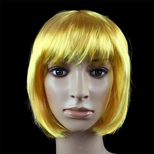 Party Ball Perücke Haar Set Student BOBO Haar Nicht-Mainstream-Welle Kopf Schönheit Perücken dekorative Formen Polystyrol (Farbe: - Bobo Der Clown Kostüm