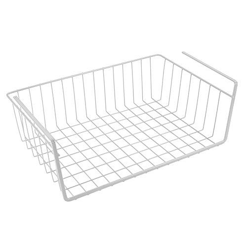 Metaltex BABATEX - Estante organizador intermedio de armario y cocina, 40 centímetros, blanco