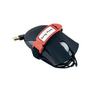 Label-the-cable LTC 2314 serre-câbles - serres-câbles (Noir, Gris, Rouge)