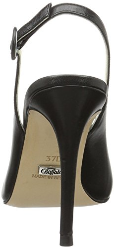Buffalo Damen 12596-351 Kid Pumps Schwarz (Black 01)