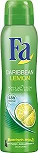 Fa Carribean Lemon 48h Deospray, 6er Pack (6 x 150 ml)