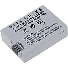 SODIAL(R)Bateria de ion de litio LP-E8 compatible con Canon EOS Rebel T2i