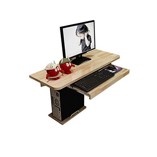 rbe-Wand-hängender Computertisch, Wand-Schreibtisch-Wand-einfacher Wand-Tabellen-Schlafzimmer (größe : 800mm) ()
