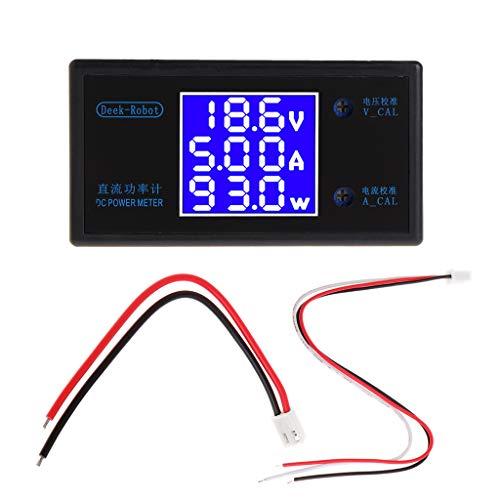 BIlinli DC 0-50V 5A 250W Voltmeter Amperemeter