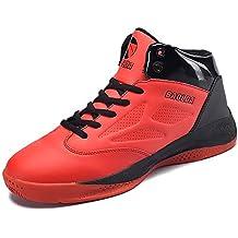 Zapatillas De Baloncesto Unisex Con La Parte Superior Alta Zapatillas Antideslizantes Resistencia Al Impacto