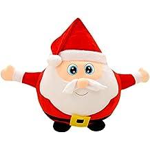 Pupazzo Babbo Natale Musicale Peluche Luminoso OULII Cuscino Natale  Decorazioni Natale Cuscino Decorativo 22cm 30a5161b01ee
