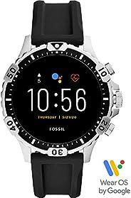 Fossil FTW4041 Men's Steel 316L Digital Quartz Watch, Multic